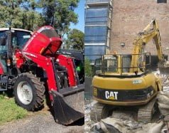 tractor earthmoving inspections